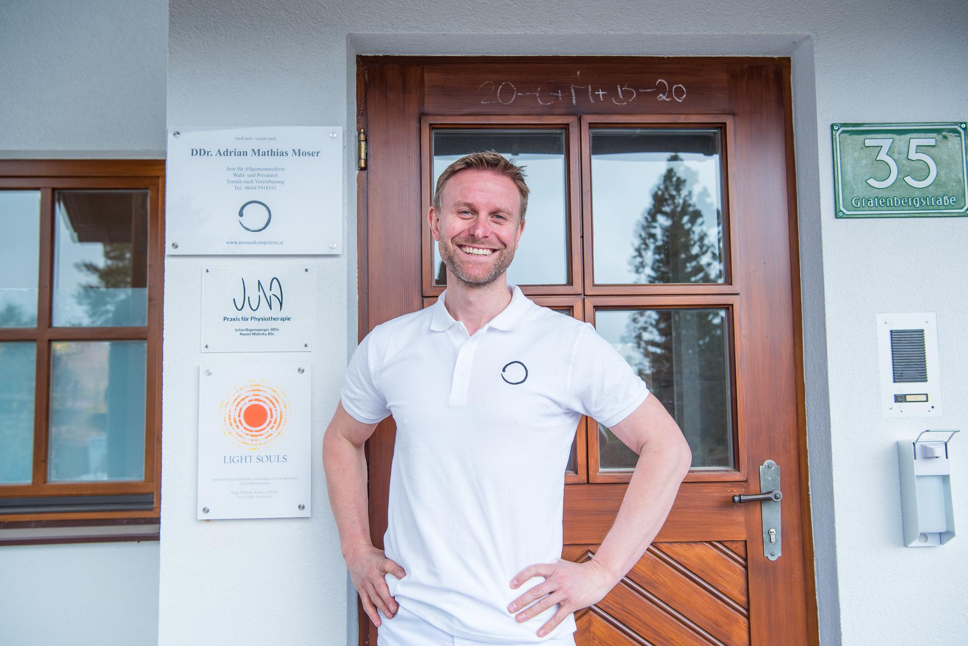 DDr. Adrian Mathias Moser, Immunkompetenz